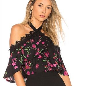 Alice + Olivia Tops - Alice&olivia Alyssa Floral Off the Shoulder Top